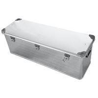 Ящик алюминиевый РИФ усиленный с замком 1176х385х412 мм