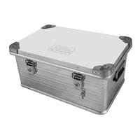 Ящик алюминиевый РИФ усиленный с замком 582х385х277 мм