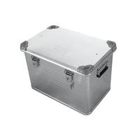 Ящик алюминиевый РИФ усиленный с замком 592х388х409 мм
