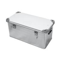 Ящик алюминиевый РИФ усиленный с замком 782х385х379 мм