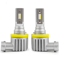 Cветодиодные лампы CarsLed H8 / H9 / H11 / H16 Atom Mini  (комплект 2шт)