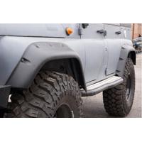 Расширители колёсных арок ТКУ-04 УАЗ Хантер (передние 105 мм, задние 95 мм)