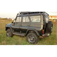 Расширители колёсных арок ТКУ-05 УАЗ Хантер (передние 70 мм, задние 70 мм)