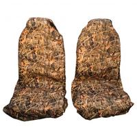 Комплект передних грязезащитных чехлов на сиденья PRO-4x4 HARD камуфляж