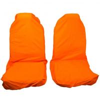 Комплект передних грязезащитных чехлов на сиденья PRO-4x4 HARD оранжевый
