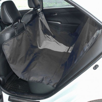Чехол-накидка на заднее сиденье TPlus (оксфорд 600, чёрный)