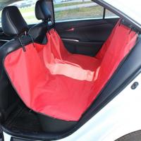 Чехол-накидка на заднее сиденье TPlus (оксфорд 600, красный)