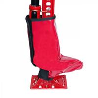 Защитный чехол на механизм домкрата типа Hi-Lift T004964 (ПВХ, красный, липучка)