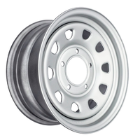 Диск усиленный ВАЗ НИВА стальной серебристый 5x139,7 7xR15 d98,5 ET+25 (треуг.)