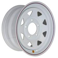 Диск усиленный ВАЗ НИВА стальной белый 5x139,7 7xR15 d98,5 ET+25 (треуг.)