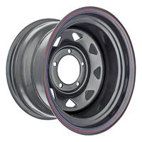 Диск усиленный УАЗ стальной черный 5x139,7 9xR15 d110 ET-30 (треуг. мелкий)