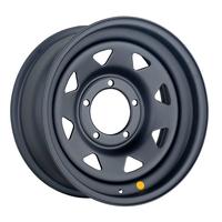 Диск усиленный УАЗ стальной черный (матовый) 5x139,7 7xR16 d110 ET0 (треуг. мелкий)