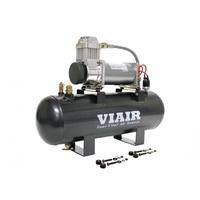 Ресивер 7,5 л в сборе с компрессором VIAIR 380С (55% при 15 атм / 100% при 9 атм)
