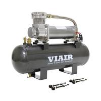 Ресивер 7,5 л в сборе с компрессором VIAIR 480С (55% при 15 атм / 100% при 9 атм)