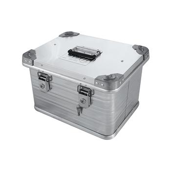 Ящик алюминиевый РИФ усиленный с замком 432х335х277 мм