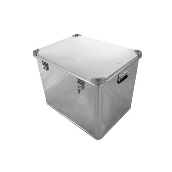 Ящик алюминиевый РИФ усиленный с замком 782х585х622 мм