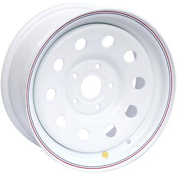 Диск усиленный стальной ORW белый 5x120 7xR16 d65.1 ET+20