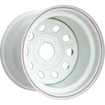 Диск усиленный стальной ORW белый 5х114,3 10xR15 d84 ET-50