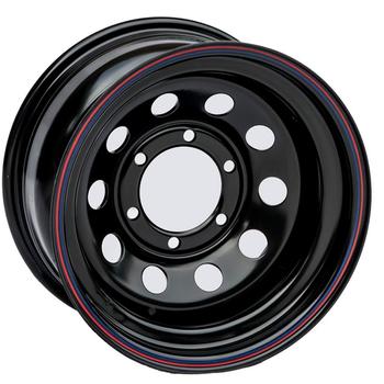 Диск усиленный стальной ORW чёрный 6x139,7 8xR16 ET-3