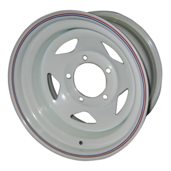 Диск усиленный стальной ORW белый 5x139,7 8xR15 d110 ET-19 (треуг.)