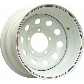Диск усиленный стальной ORW белый 5x139,7 8xR16 d110 ET+15