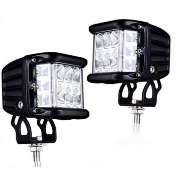 Светодиодные фары GR-9045F 45W ближний свет с боковой подсветкой (комплект 2шт.)