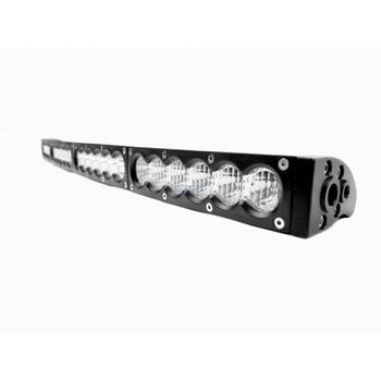 Светодиодная балка GRBC-23120C 120W изогнутая комбинированный свет