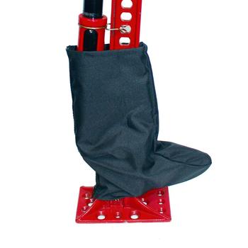 Защитный чехол на механизм домкрата типа Hi-Lift на молнии T004956 (черный)